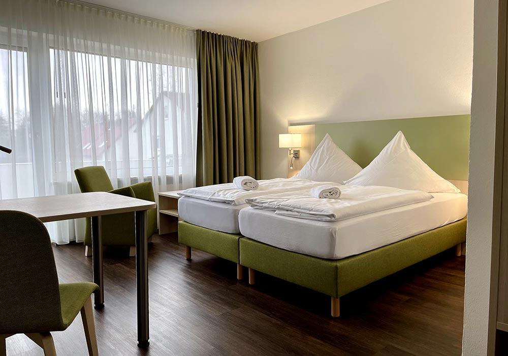 Doppelzimmer im Hotel mit Frühstück München